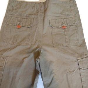 4006391936 Eddie Bauer Shorts - Eddie Bauer Women's Khaki Cargo Shorts Size 18